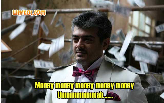 Mone Mone dialogues from Mankatha