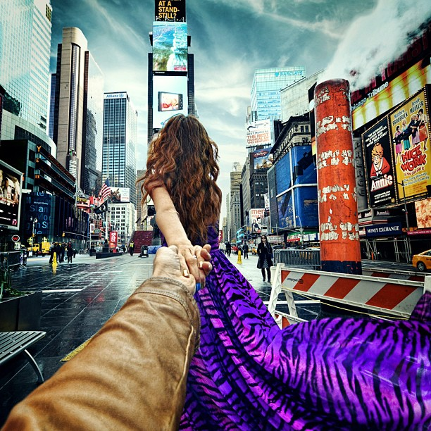 Times Square, NYC follow-me-murad-osmann-2-9