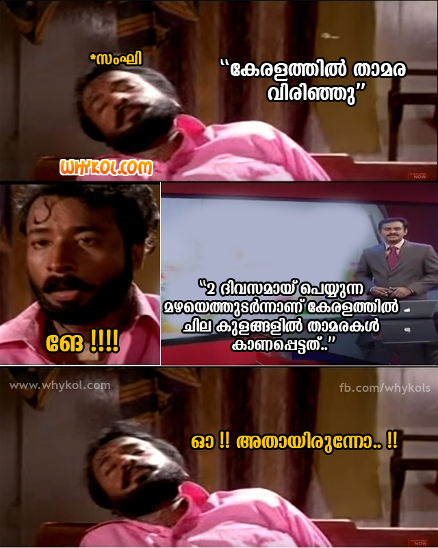 Kerala Election Troll images in Malayalam