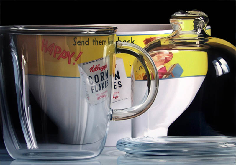 Pedro Campo Photorealistic paintings