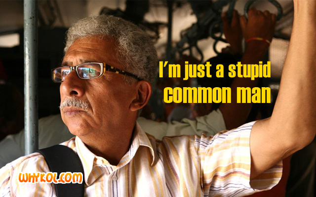 Famous Bollywood dialogues | Naseeruddin Shah