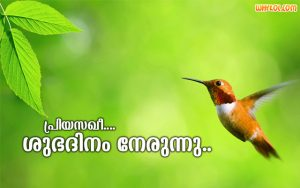 Morning Wishes in Malayalam Language