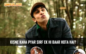 Hindi Love Quotes | Barfi Movie Dialogues | Ranbir Kapoor
