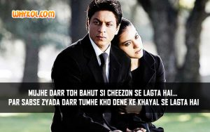Best dialogues from the Hindi Movie My Name is Khan