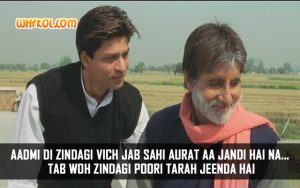 Amitabh Bachchan dialogue about love | Veer Zaara