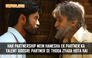 Shamitabh Movie dialogues | Amitabh Bachchan