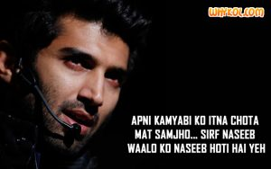 Famous Hindi Film dialogues | Aashiqui 2