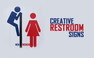 RestRoom Signs Cover