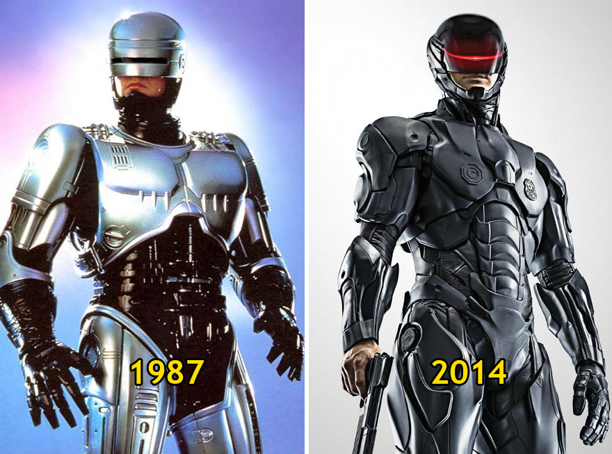 Robocop Then and Now