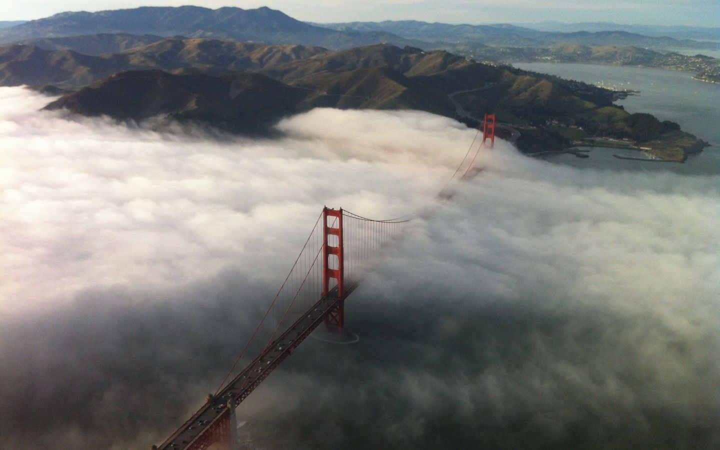 Skyview Golden Gate Bridge California