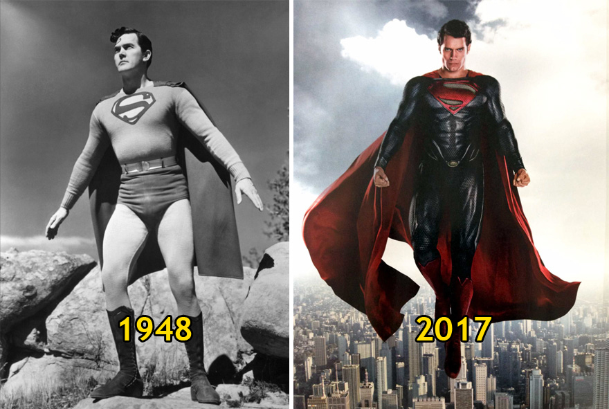 5. Superman | Then and Now
