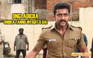 Surya punch dialogues from Singam