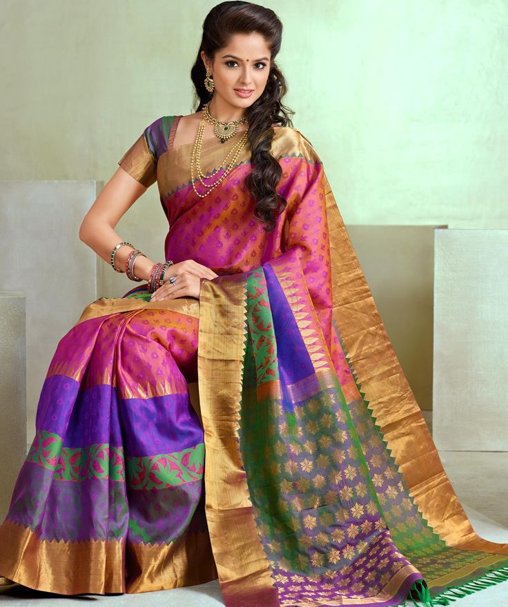 Wedding Trendy Silk Saree