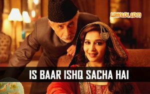 Love Quotes from the Hindi movie Dedh Ishqiya