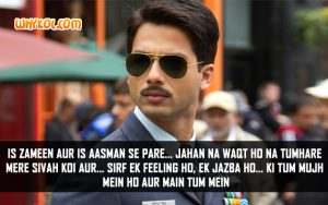 Hindi Love Dialogues | Shahid Kapoor in Mausam