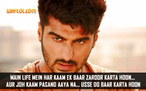 Arjun Kapoor Dialogues | Famous Bollywood Movie Tevar