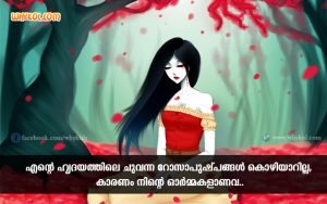 Love Feeling Quotes | Malayalam Romantic Whatsapp Status