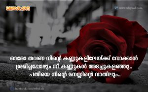 Sad Quotes in Malayalam | Lost Love Images