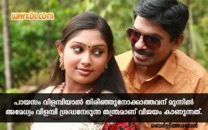 Malayalam Blog Berlytharangal Quotes | Berly Thomas