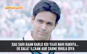Hindi Movie Azhar Dialogues | Emraan Hashmi