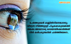 Sad Love Kavithakal | Malayalam Quotes
