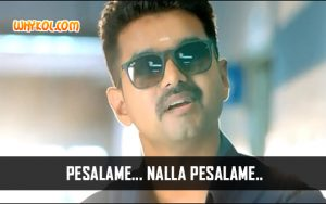 Vijay Famous Dialogues from the Tamil Movie Theri
