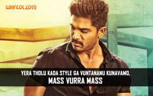 Allu Arjun Movie Dialogues | Scene from Sarrainodu