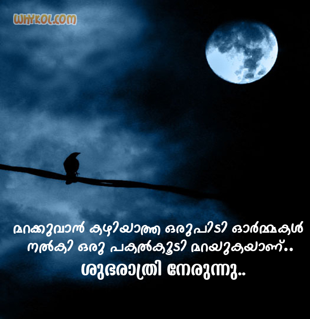List of malayalam good night quotes 100 good night quotes pictures good night wishes pictures with malayalam altavistaventures Gallery