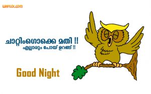 Malayalam Funny Good Night Pictures | Wishes for Whatsapp Group | Good Night Chat