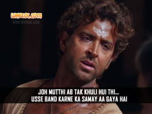 Hrithik Roshan Action Dialogues from Mohenjo Daro