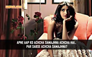 Dramatic Dialogues From Hindi Movies | Sonam Kapoor in Aisha