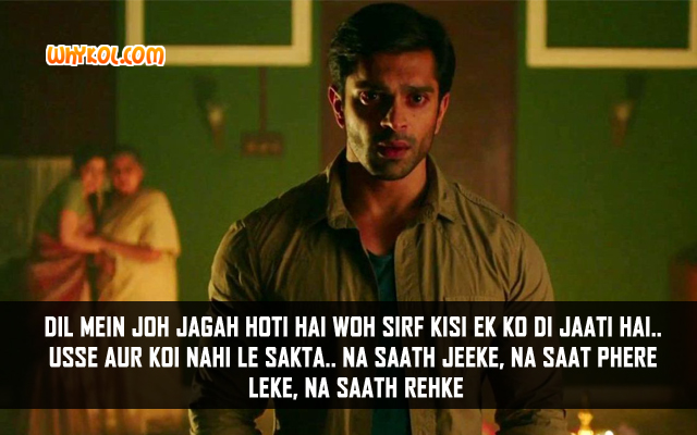 Karan Singh Grover Romantic Dialogues From Alone