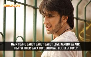 Ranveer Singh Dialogues From The Movie Baand Baaja Baaraat