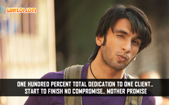Popular Bollywood Dialogues | Ranveer Singh in Baand Baaja Baaraat
