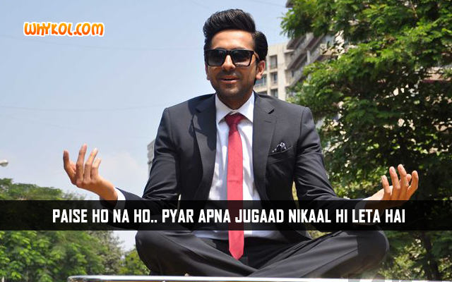 Bewakoofiyaan Hindi Movie Dialogues | Ayushmann Khurrana