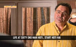 Inspirational Hindi Quotes From Movies | Rishi Kapoor in Bewakoofiyaan