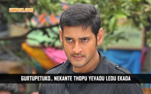 Best Of Mahesh Babu Dialogues From The Businessman