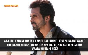 Bollywood Dramatic Dialogues From Movies | Arjun Rampal