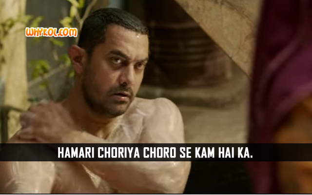 Best Of Aamir Khan Dialogues | Dangal Movie