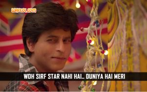 SRK Dialogues From The Movie Fan