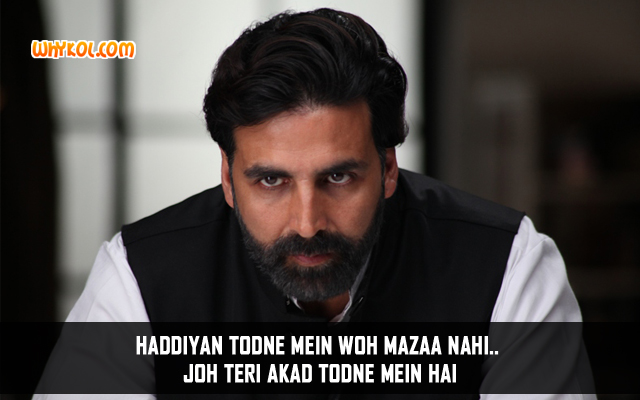 Gabbar Is Back Hindi Movie Dialogues | Akshay Kumar