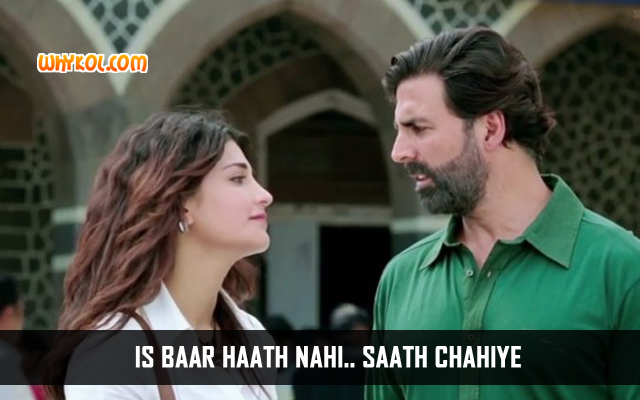 Popular Dialogues From The Movie Gabbar is Back