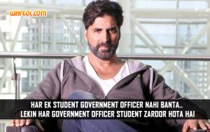 Best Of Akshay Kumar Dialogues From Gabbar is Back
