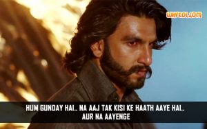 Hindi Movie Gunday Dialogues | Ranveer Singh
