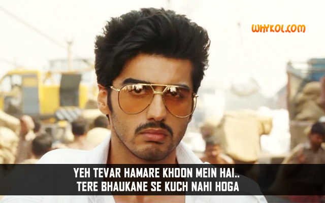 Arjun Kapoor Action Dialogue From Gunday