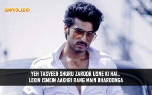 Arjun Kapoor Dialogues From Gunday | Bollywood Action Dialogues