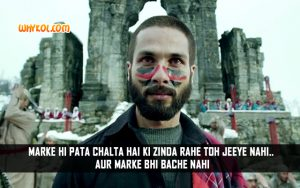 Hindi Life Quotes | Shahid Kapoor Popular Dialogues