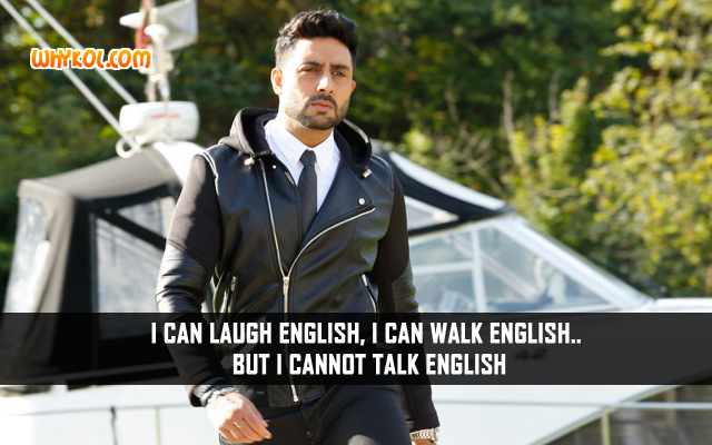 Abhishek Bachchan Comedy Dialogues From The Movie Housefull 3