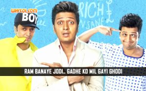 Hindi Movie Comedy Dialogues | Ritesh Deshmukh in Humshakals