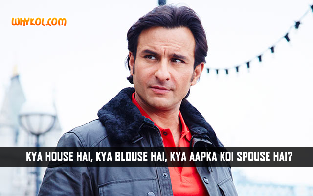 Saif Ali Khan Dialogues From Humshakals | Hindi Jokes